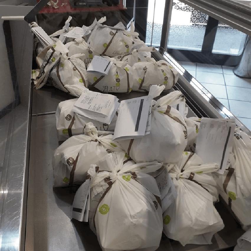 vaschette consegna a domicilio